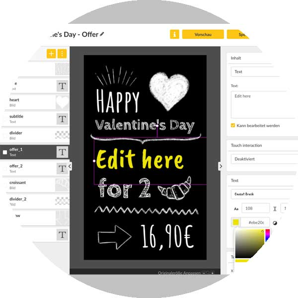 diwa-gastro-display-edit-templates